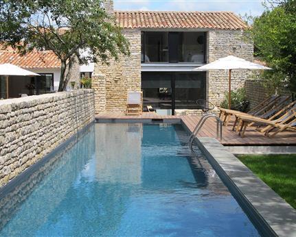 Location villa de luxe et moulin avec piscine chauff e ile de r le senechal h tel de charme - Pierre et vacances ile de re ...